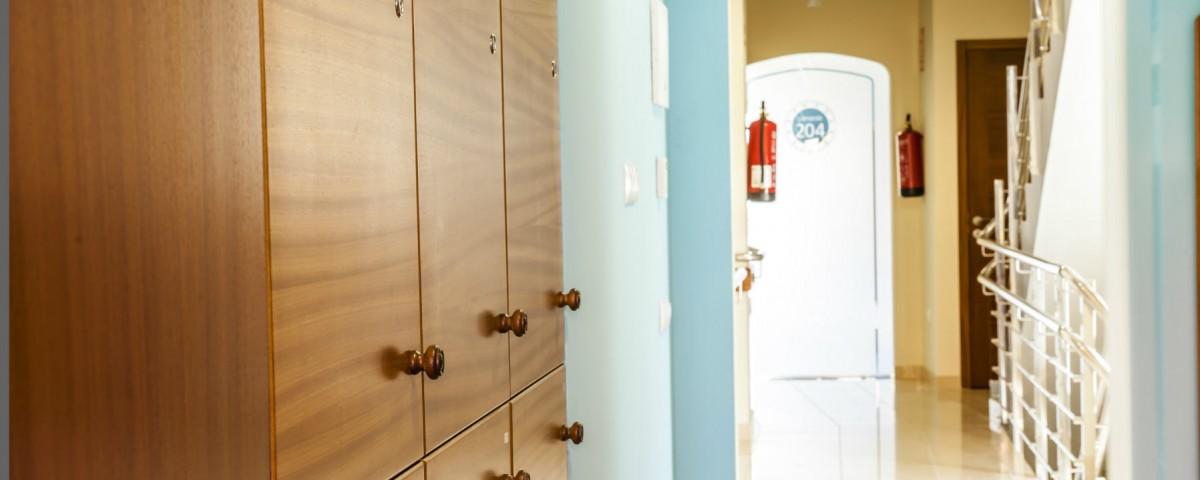 Albergue Arribada de Muxía: Instalacións dormitorios