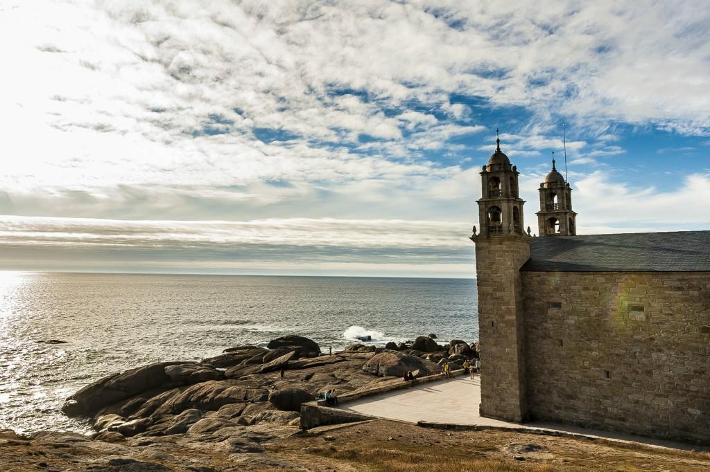 Santuario de Nosa Señora da Barca en Muxía