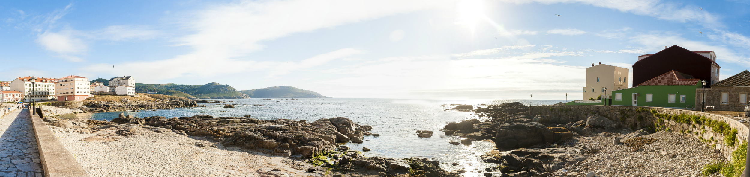 Vista panorámica en Muxía, A Coruña